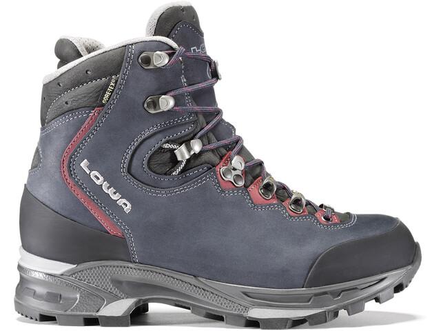 Lowa Mauria GTX Chaussures de trekking Femme, dark blue/burgundy